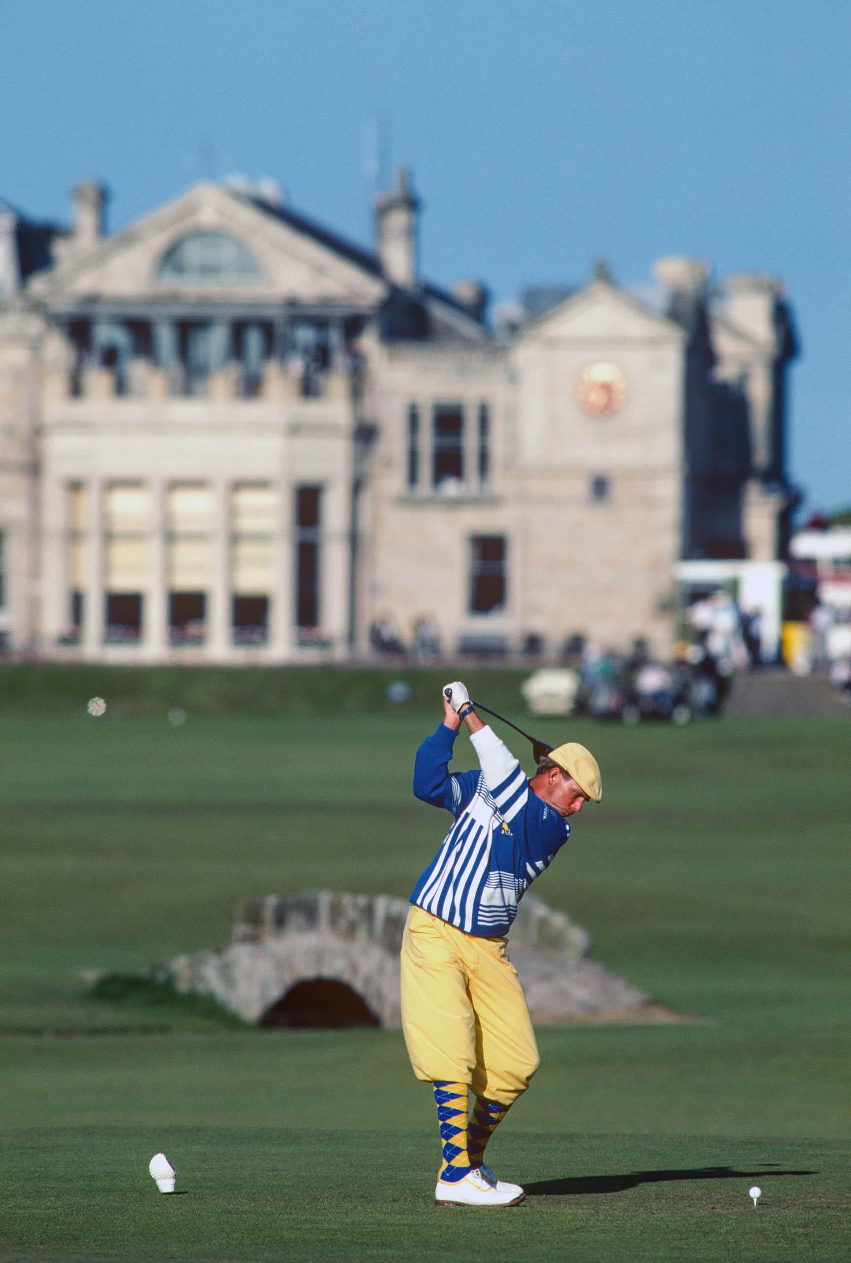Payne Stewart, Open Championship, St Andrews