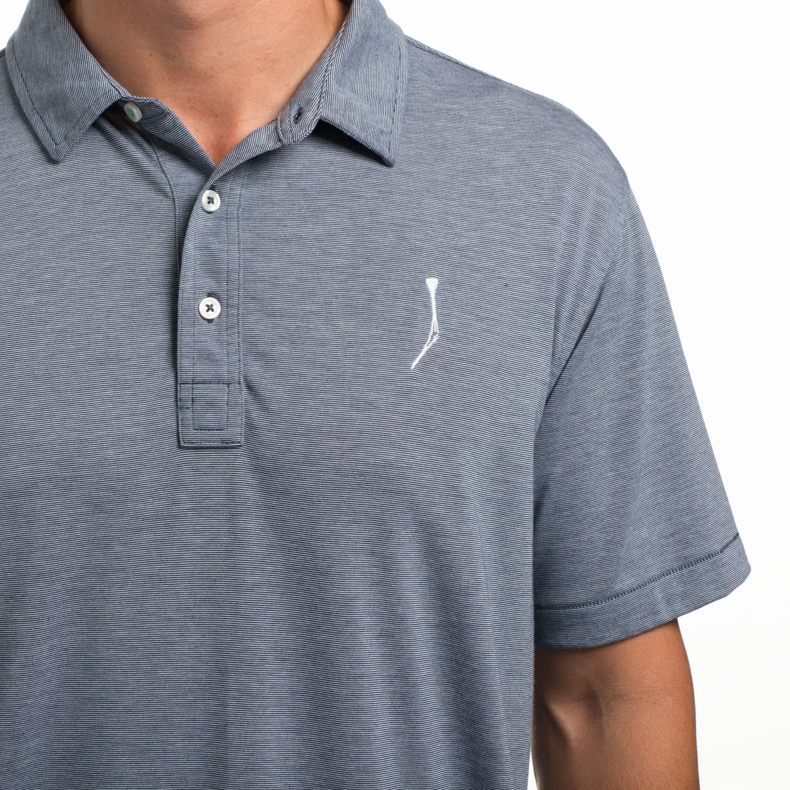 TGJ x Linksoul Men's Avila Polo - Vintage Navy