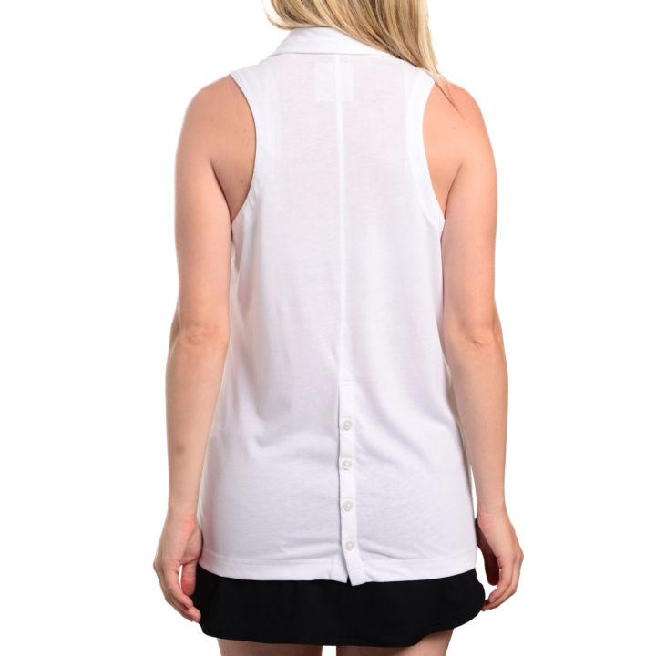 TGJ x Linksoul Women's Sleeveless Shirt - White