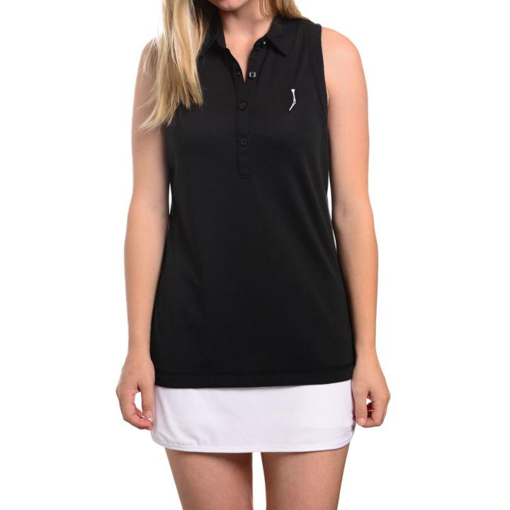 TGJ x Linksoul Women's Sleeveless polo - Gray