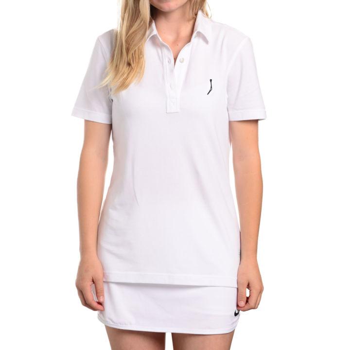 TGJ x Linksoul Women's Drytech Polo - White