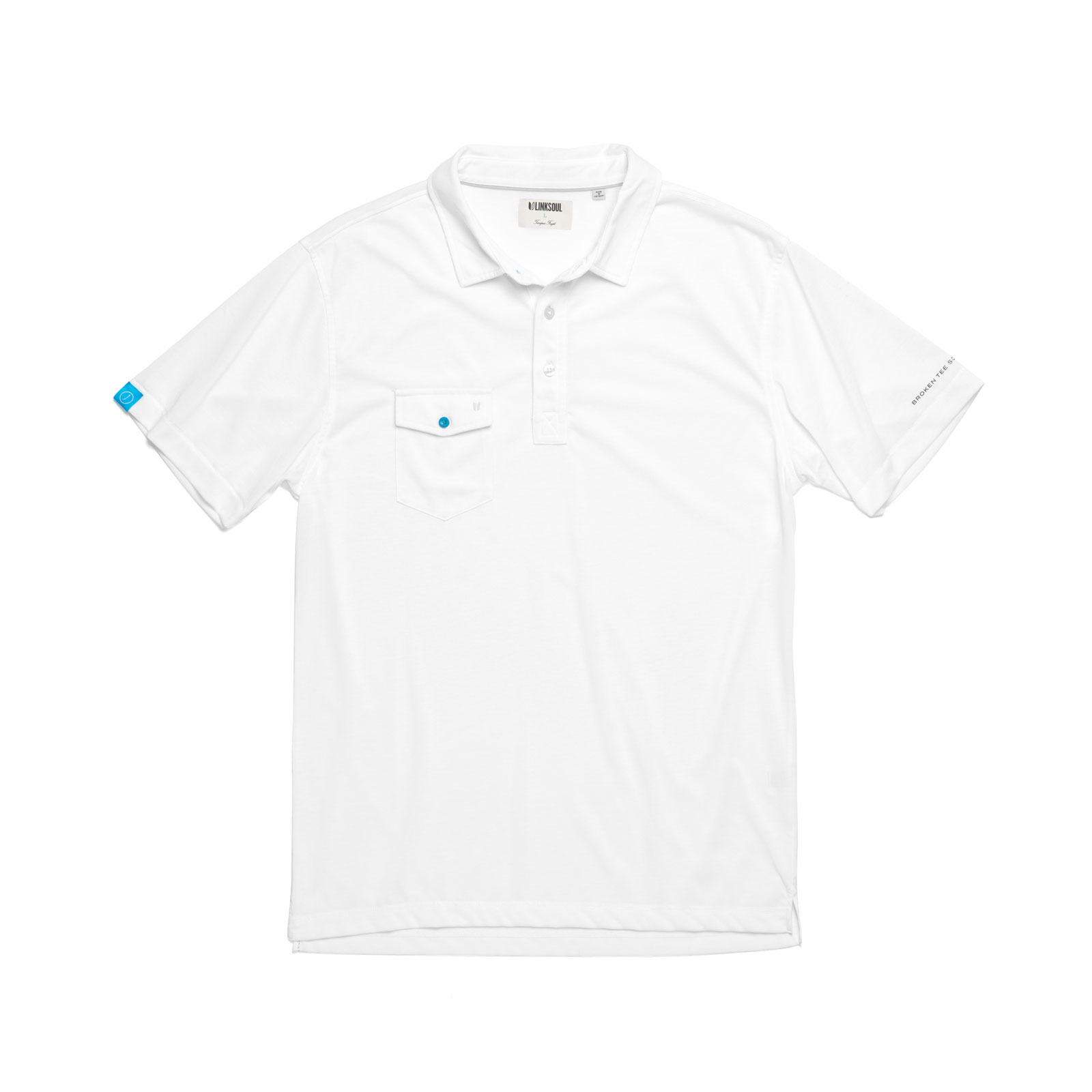 The Modern Classic Polo - White