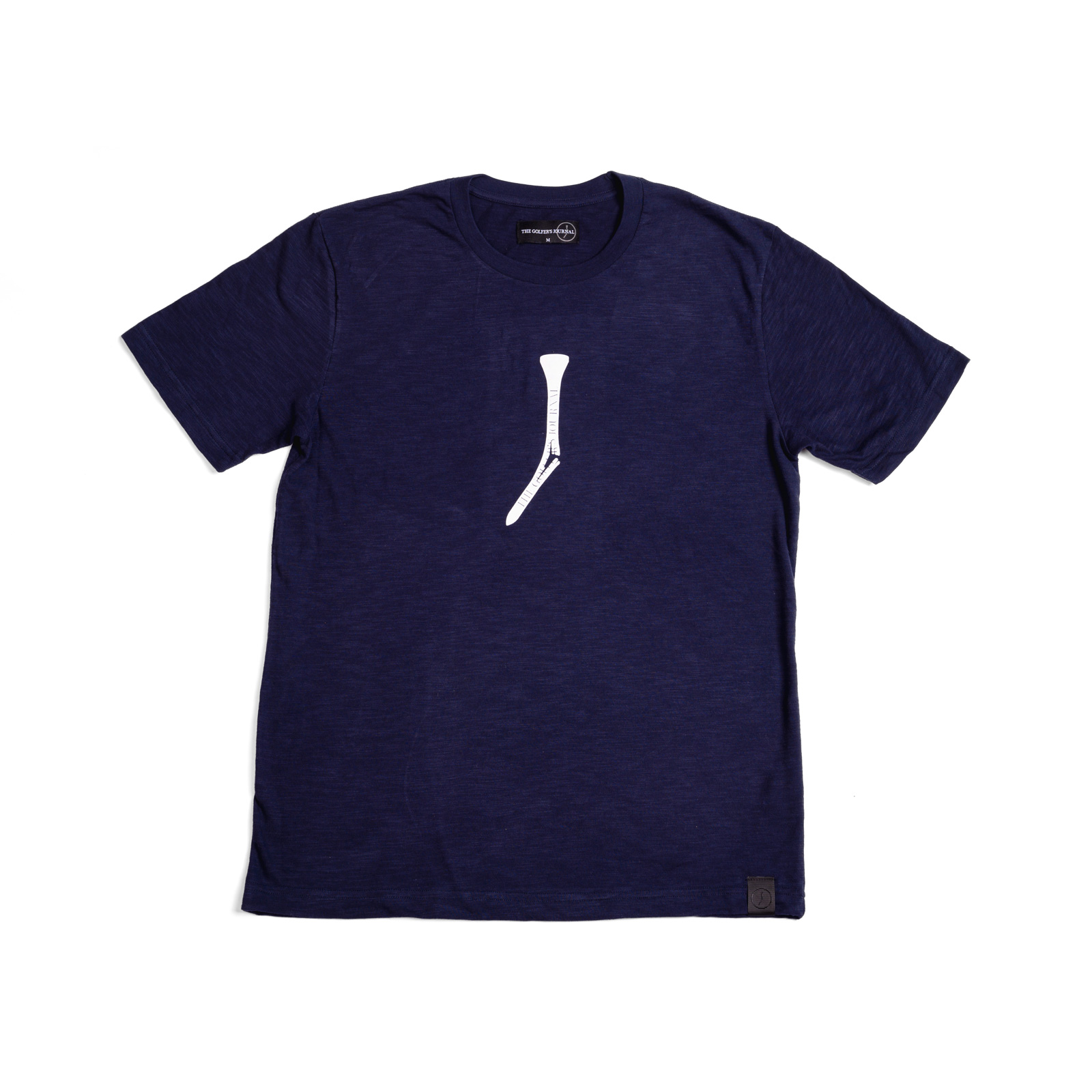 The Split Tee - Navy