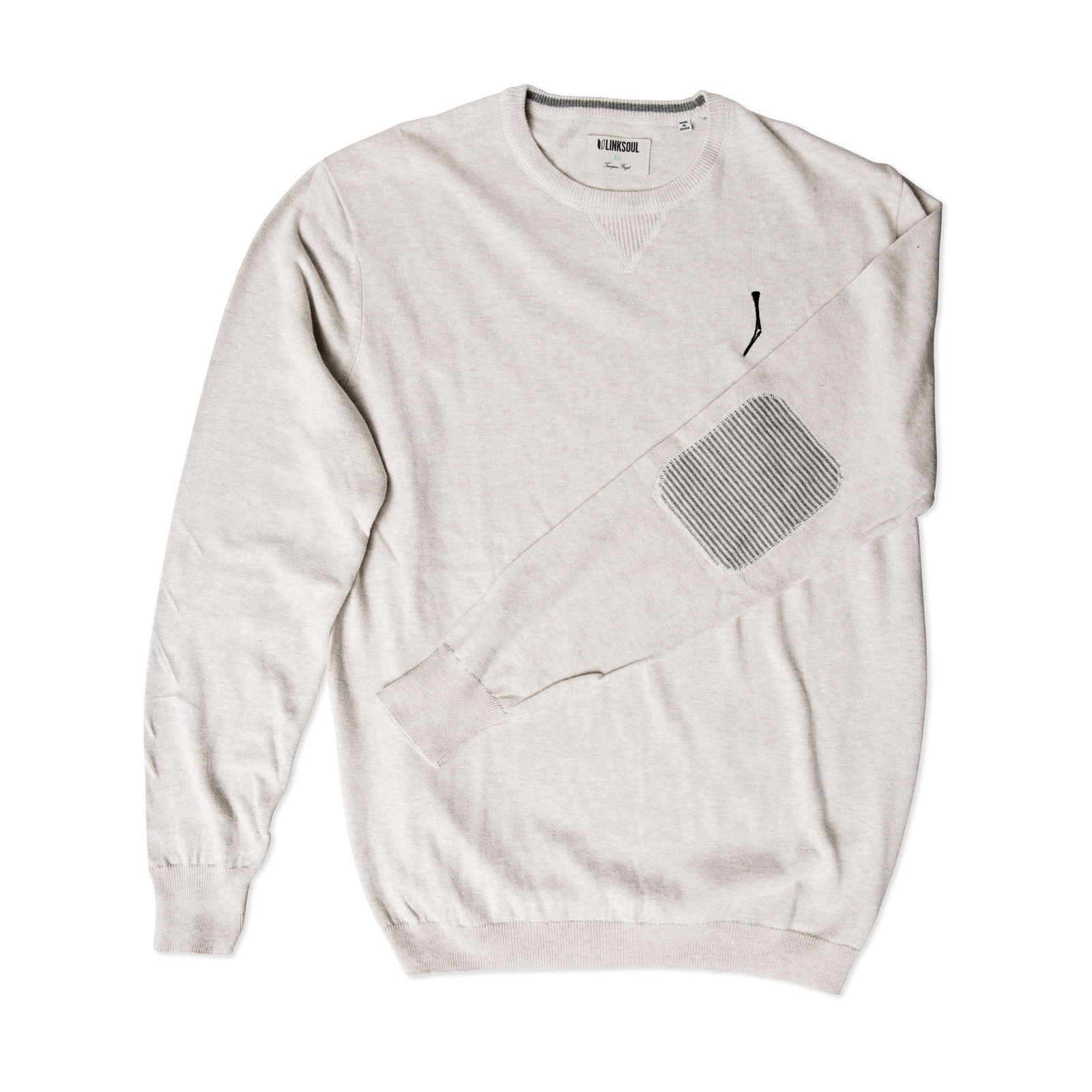 TGJ x Linksoul Cotton-Cashmere Sweater Natural