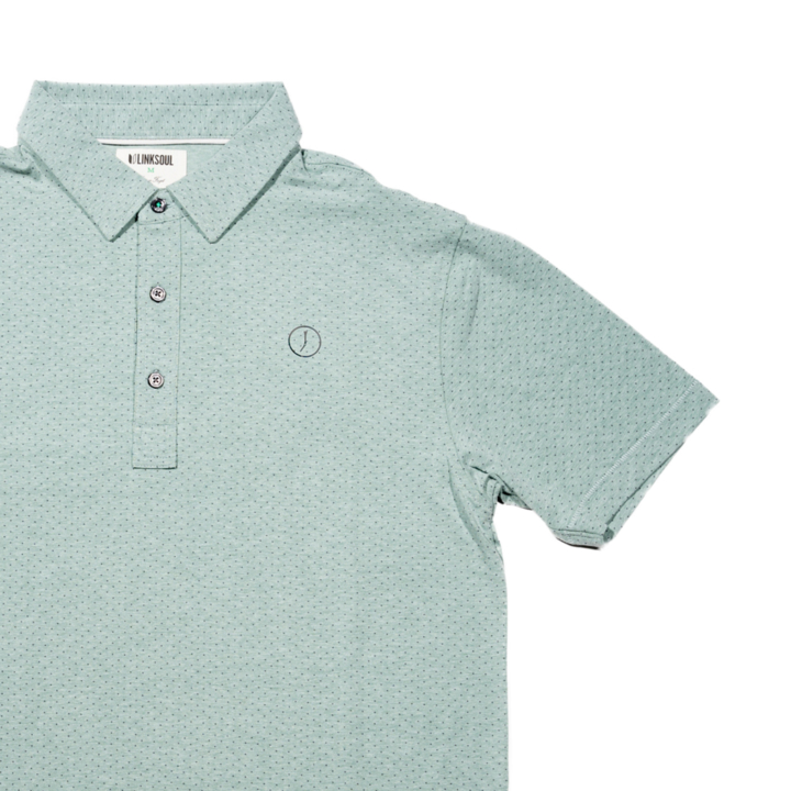 Circle Tee Anza Dot Print Polo
