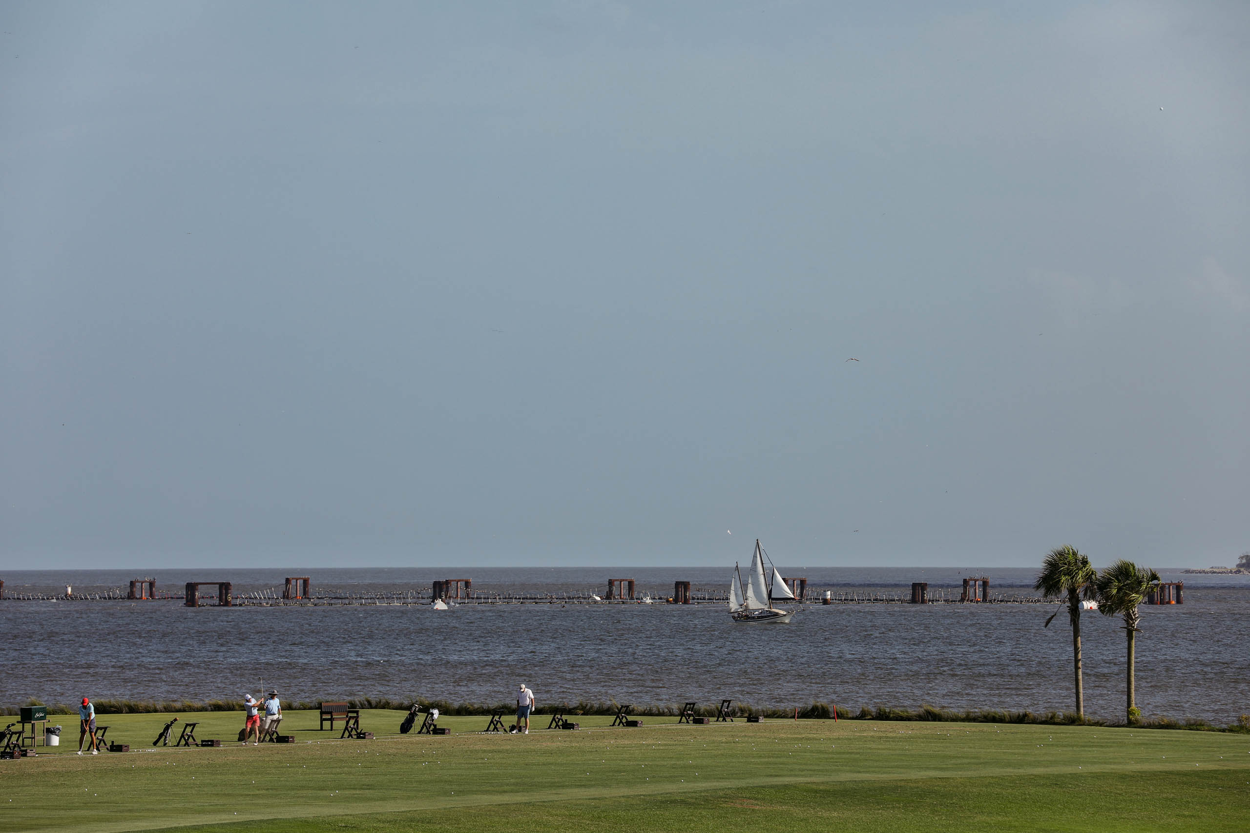 Different boats with altogether different cargo could be seen in the waters off Sea Island during the 1700s.