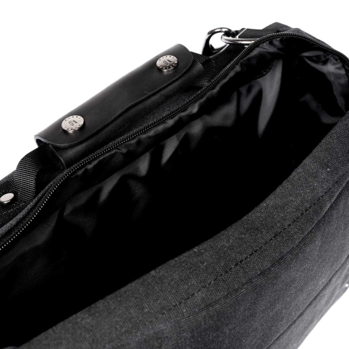 Black reverse Routing Bag