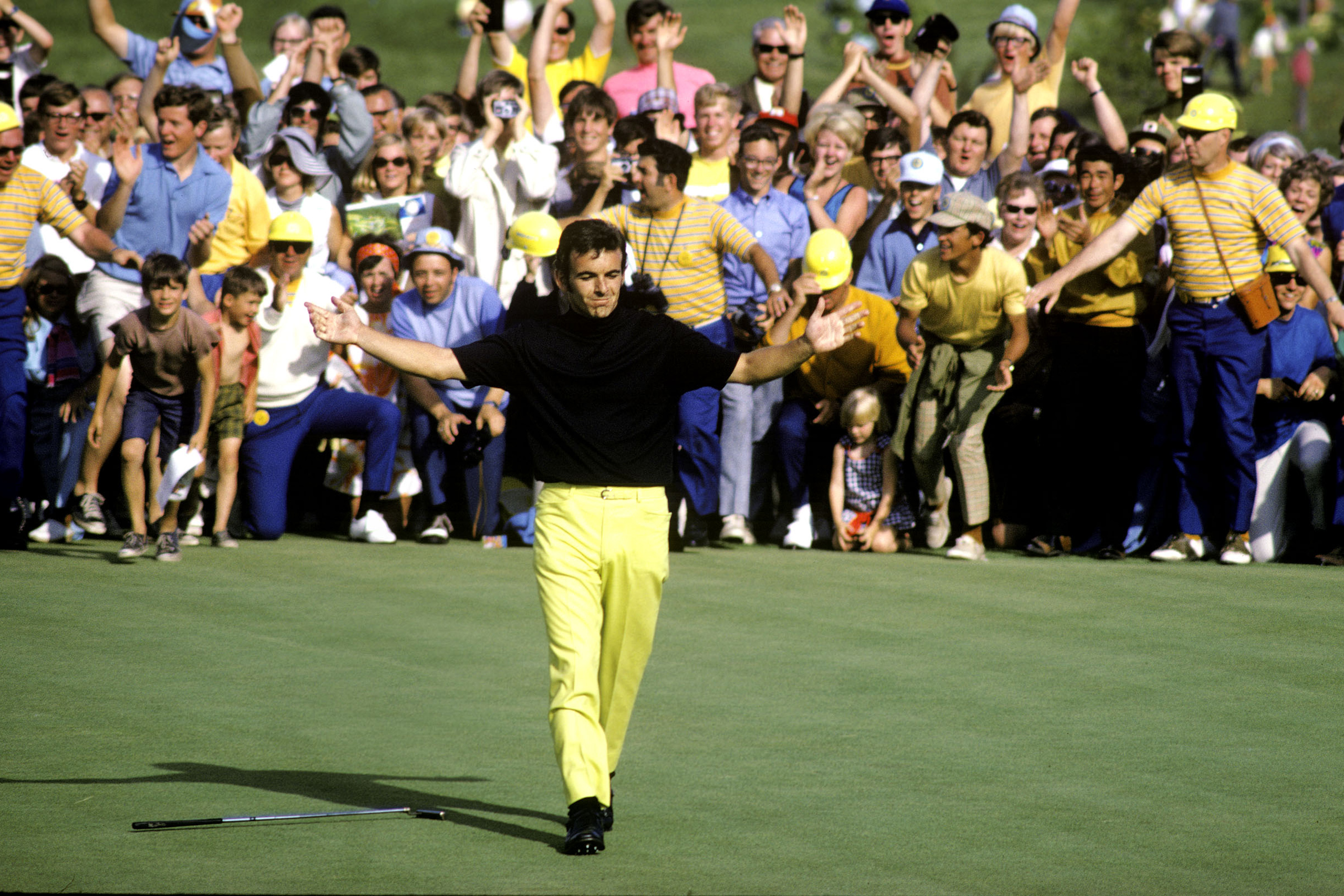 Hazeltine's men's major championship history is more nuanced than a catalog of champions and scores.  Its first, the 1970 US Open, was a wind-whipped massacre where half the field didn't break 80 in the opening round, including Nicklaus, who bemoaned the new venue's difficulty in pre-tournament comments. Englishman Tony Jacklin didn't mind the breeze; he scooped up Hazeltine's first men's major, while Payne Stewart claimed its second in 1991.